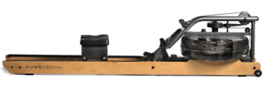 New-Pure-Design-VR2-Water-Rower-with-Beech-Wood-Rails-MADE-IN-USA