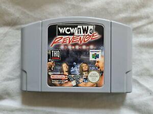 Wcw V Nwo Revenge Nintendo 64 N64 juego PAL versión Wcw/NWO