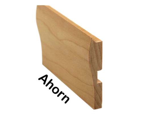 Buche // Eiche// Ahorn €16,50//m Abdeckblenden Holzblenden f Treppenkantenprofile
