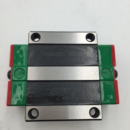 HIWIN 20mm Linear Rail Block HGW20CC Carriage Slider for HGR20 Rail Guideway CNC