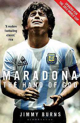 1 of 1 - Maradona: The Hand of God, Burns, Jimmy, New Book