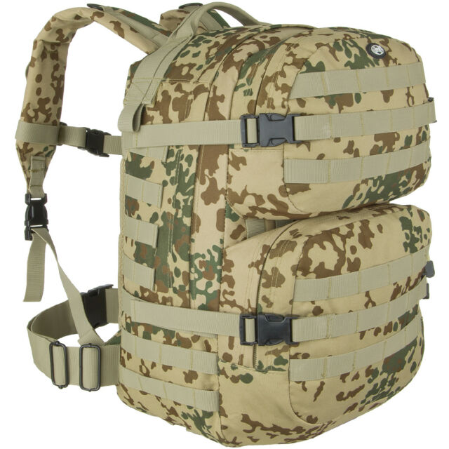 bc362e3083 MFH Zaino Assault II Tattico Pattuglia Sicurezza Outdoor Trekking Tropical  Camo