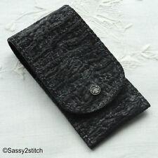 DOVO Leather Scissor Pocket - Black