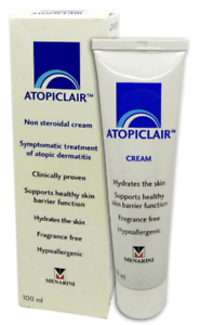 Details about Atopiclair Non Steroidal Cream for Eczema & Dermatitis 100ml  For Babies & Kids