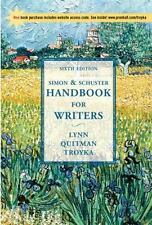 Simon & Schuster Handbook for Writers with APA Updates & Companion Website Subsc