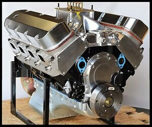 Details about BBC CHEVY 454/468 ENGINE, DART BIG M BLOCK, CRATE MOTOR 600  hp BASE ENGINE