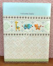 Carters WONDER Giraffe Tiger Baby Boy Girl Memory Keepsake Book 1st 5 Yrs