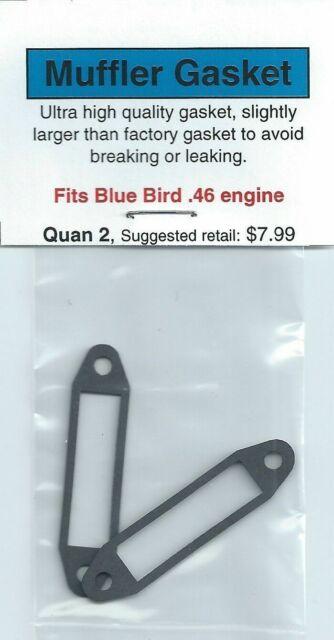 OS .46 AX Exhaust//Muffler Gasket 2 Pack NIP
