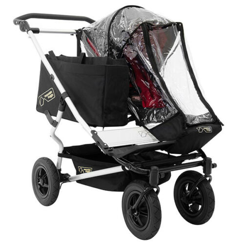 Mountain Buggy Duet Single Storm Wind Rain Snow Cover Protection