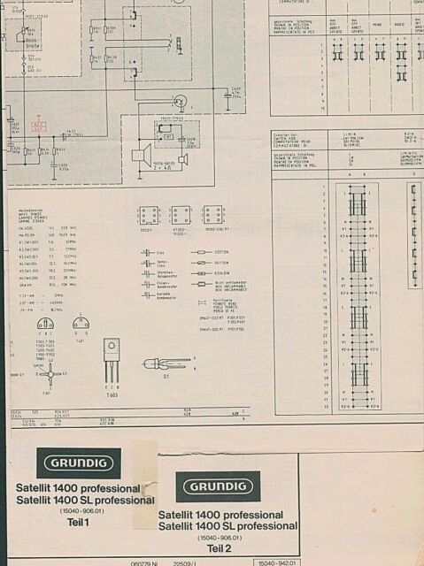 Service Manual Grundig Satellit 1400 Professional
