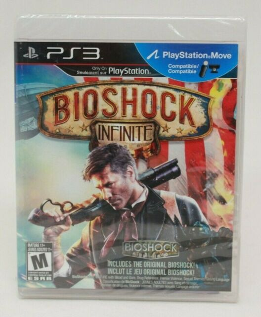 Bioshock Infinite (Sony PlayStation 3 PS3) Brand New and Sealed 2K Games