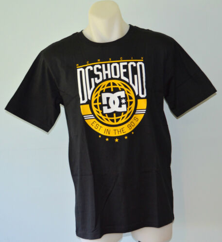 SIZE BLACK NEW DC Shoes Boys Printed T Shirt 10,12,14 /& 16 YEARS