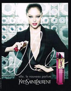 Femme Publicite Laurent Parfum Yves Sur 130415 Détails 045 Elle 2008 Saint Advertising 8kOP0nw