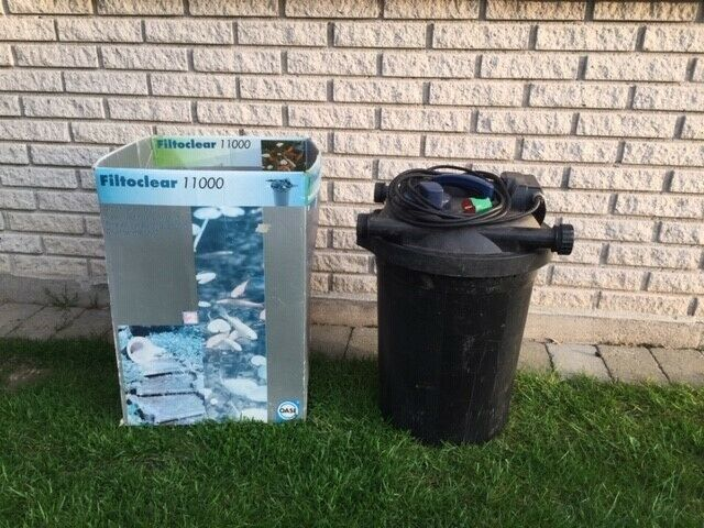 Havebassin trykfilter Filtoclear 11000