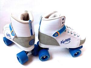Kryptonics-Blitz-White-blue-Rollschuhe-Roller-Skates-Gr-41-42