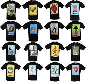 Mexican-Loteria-Borracho-Drunk-Beer-La-Peda-Men-039-s-Funny-T-Shirt
