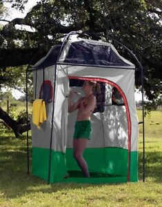 Portable Camping Shower Tent Room Outdoor Privacy Bathroom ...