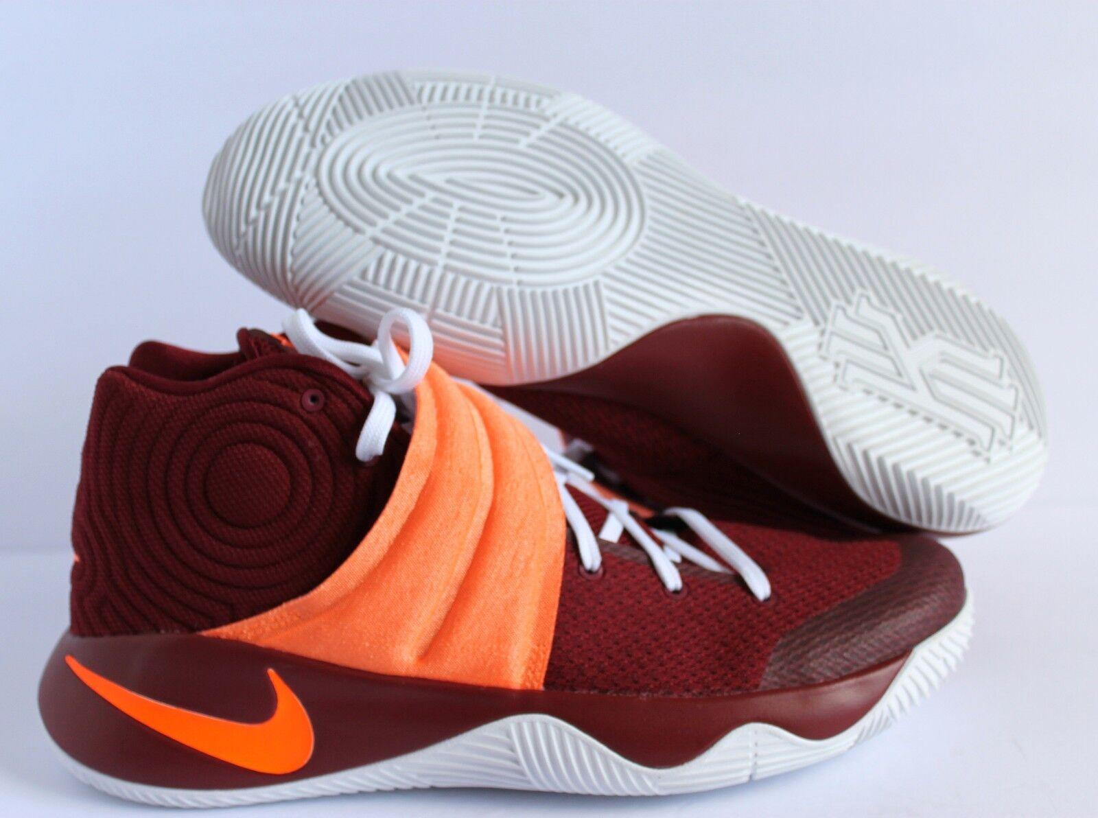 Nike Hombres Naranja-Blanco Kyrie 2 ID Borgoña-Color Naranja-Blanco Hombres [843253-998] 5dea68
