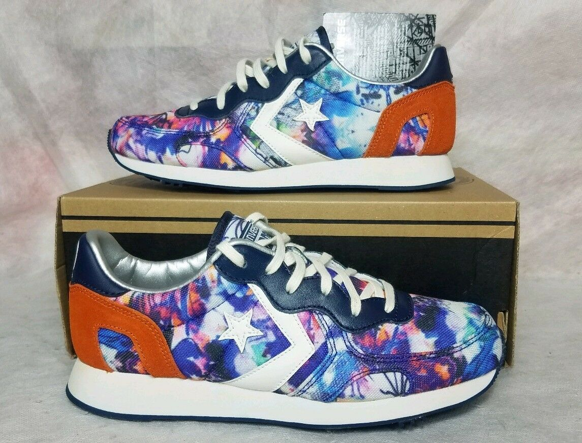 New Converse Auckland Racer OX One Star Tie Dye Women Size 6 Purple Pink shoes