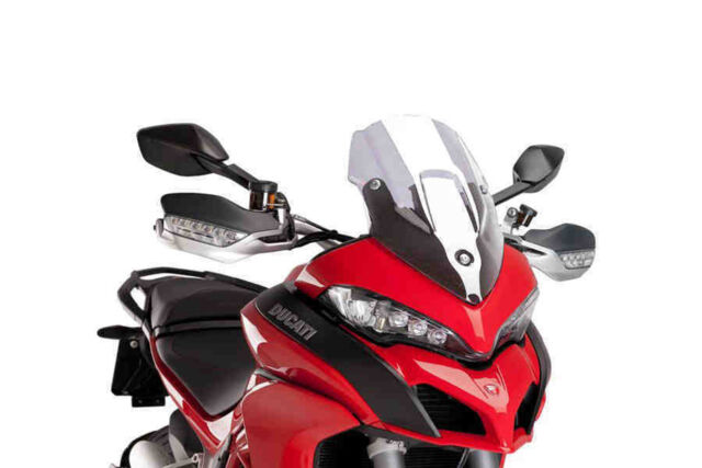 PUIG RACING SCREEN DUCATI MULTISTRADA 1200/S 15-17 CLEAR