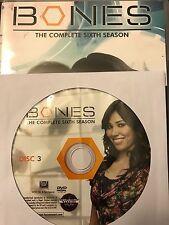 Bones – Season 6, Disc 3 REPLACEMENT DISC (not full season)