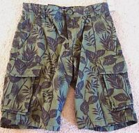 Bran Gap Kids Cargo Regular Boys Shorts Navy / Olive/ Gray/green Palm Print