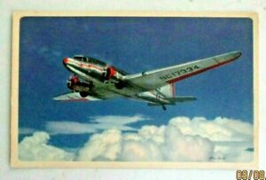 Vintage 1940s postcard of American Airlines Flagships