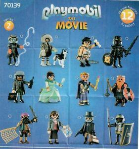Playmobil-70139-Figuren-The-Movie-Serie-2-neuwertig