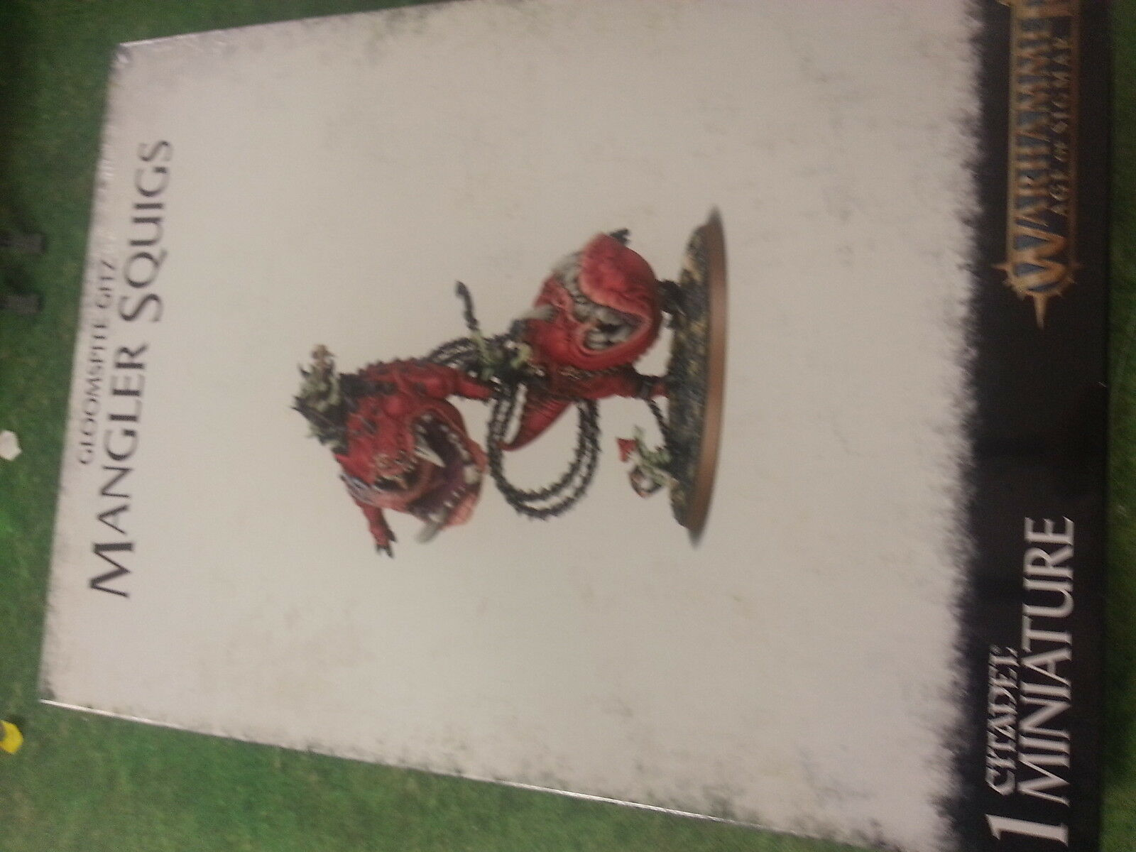WARHAMMER AGE OF SIGMAR GLOOMSPITE GITZ MANGLER SQUIGS - NEW AND SEALED