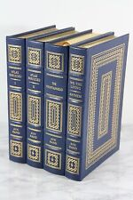 AYN RAND SET  Easton Press - Atlas Shrugged, Fountainhead, We The Living, Anthem