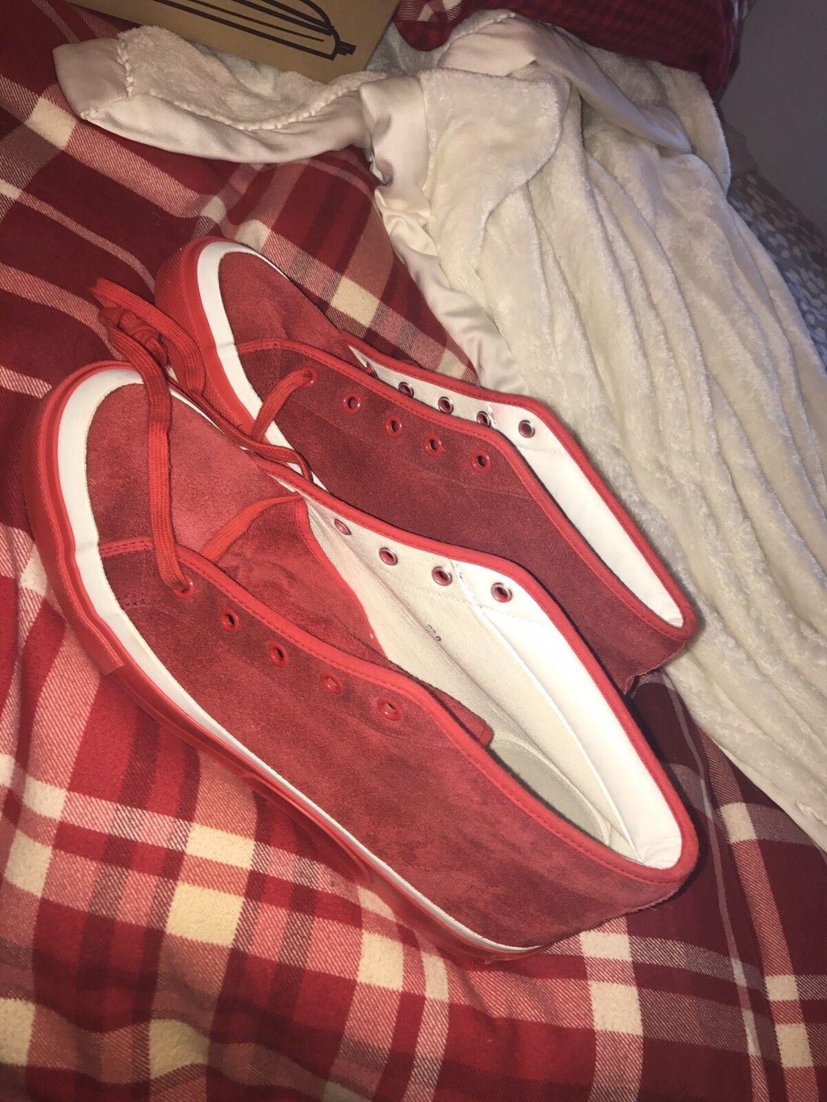 Billionaire garçons Club Chaussures RARE    Made in Japan rouge Original Pharrell 10.5