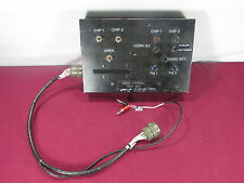 Aircraft Siren Control Test Box P/N T6455-10187-1 -Test Aviation Avionics