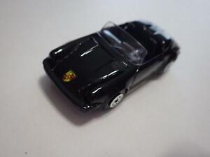 Maisto-China-Brillo-Negro-Porsche-911-Speedster-Diecast-1-60