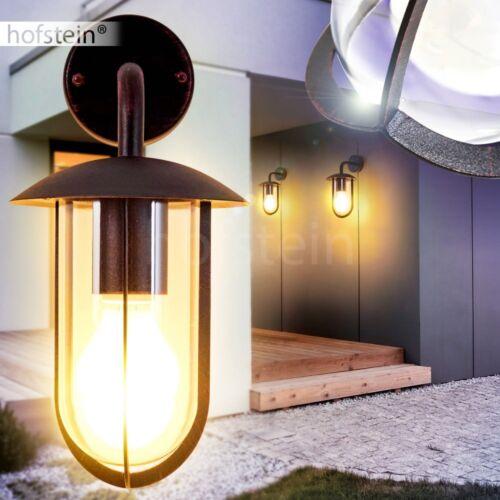 Down Extérieur Mur Lampes Véranda Terrasse Lampe Jardin éclairage rostfarben