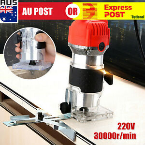 800W-Electric-1-4-039-039-Woodworking-Trimmer-Hand-Laminate-Tool-Router-30000RPM-D