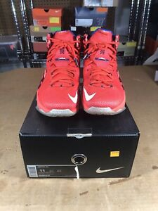98e25c5f481a Image is loading 100-Authentic-Nike-Lebron-12-Independence-Day-Size-