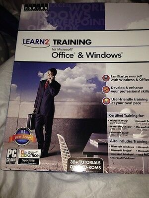 BRAND NEW Learn2 Complete Training for Microsoft Office 2007 /& Windows Vista//XP