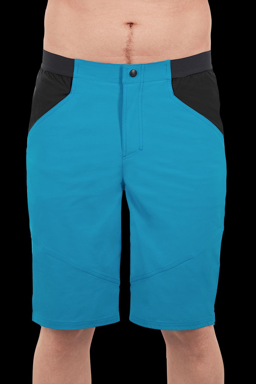 Cube Pantaloni corti CUBE EDGE Nero/Azzurro