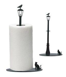 Elegant Image Is Loading ARTORI Design Cat Vs Crow Bird Kitchen Roll
