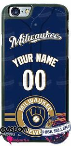 MILWAUKEE-BREWERS-PHONE-CASE-COVER-Fits-iPHONE-SAMSUNG-LG-etc-With-NAME-amp-No