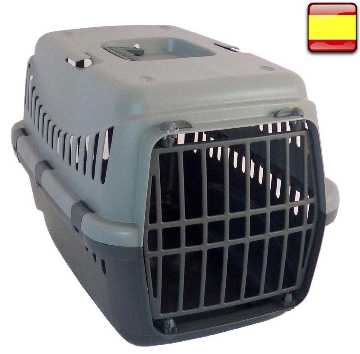 Transportin para peros gatos mascotas ideal para coches hecho en europa