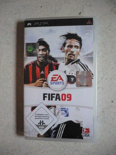 1 von 1 - FIFA 09 (Sony PSP, 2008) - EA Sports Sportspiel Fußballspiel Fussball Topspiel