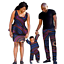 thumbnail 25 - Traditional African Family Clothing Matching Father Mother Son Baby Sets V11590