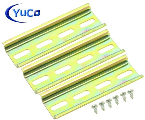 Yuco Slotted Steel Din Rail 35mm X 7.5mm PR005 ASI RoHS Choose Length $25 FRE SH