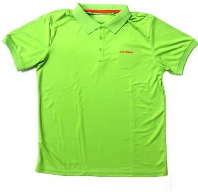 Icepeak Kyan Herren Polohemd Outdoor Poloshirt Funktionsshirt Blattgrün Neu