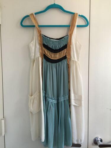 300$ Chelsea Flower Dress Silk Chiffon size XS