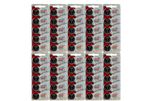 100 new Maxell hologram 3v battery Lithium Coin Cell Battery CR2032 ECR2032