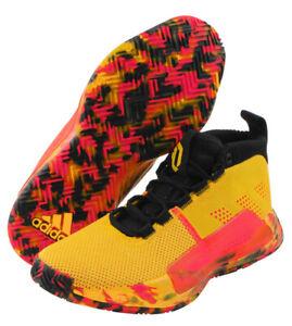 c2b0739aa38 adidas Dame 5 Men s Basketball Shoes NBA Casual Yellow Casual Shoe ...