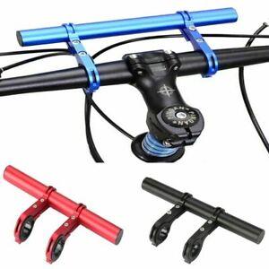 Handlebar Grip Extension Mount Bicycle Bike Handle Bar Bracket Extender Holder