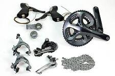 USED Shimano Ultegra 6700/6750 Compact Road Bike GroupSet 10 speed 50/34 170mm